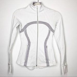 Lululemon zip up stretch jacket